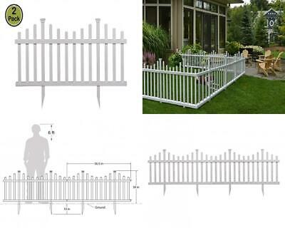 Zippity Outdoor Products Zp19001 Madison Vinyl Picket