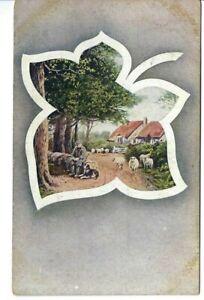 CK-095-Flach-amp-Trauscht-Calendar-Offer-Advertising-Divided-Back-Postcard