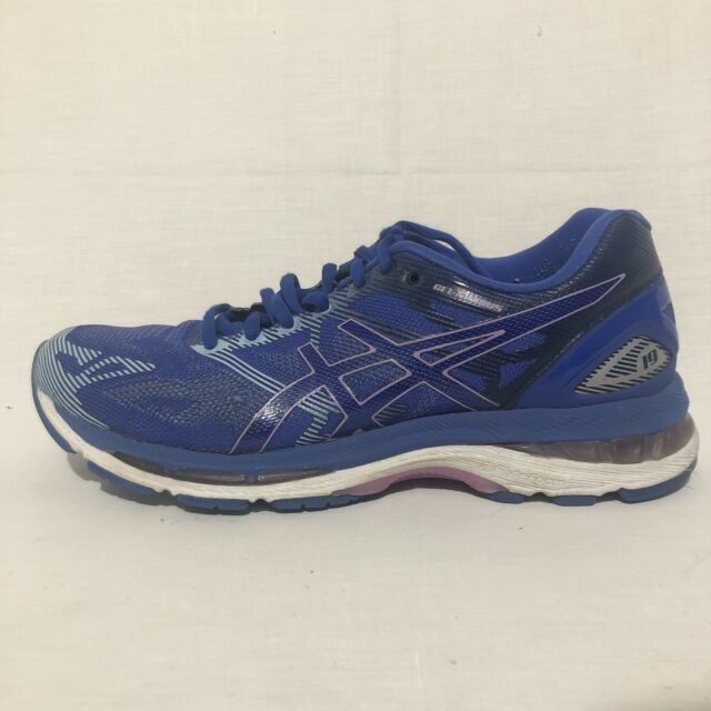 Asics Gel-Nimbus 19 T750N Running Shoes, Women's Size US 9/Euro 40.5 Blue