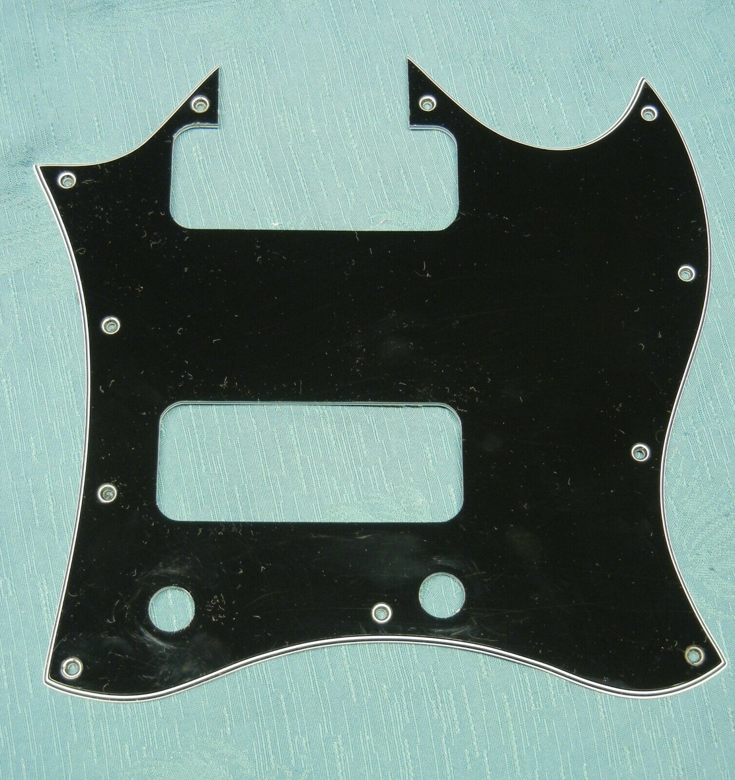 Full  Batwing  Pickguard for Gibson 50s Tribute SG with P-90 soapbar pickups