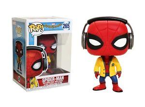d4f458ec5c5 Funko Pop Marvel Spider-Man Homecoming  Spider-Man Vinyl Bobble-Head ...