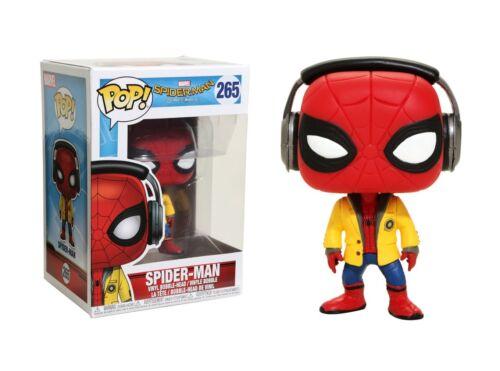 Funko Pop Marvel Spider-Man Homecoming Spider-Man Vinyl Bobble-Head #21660