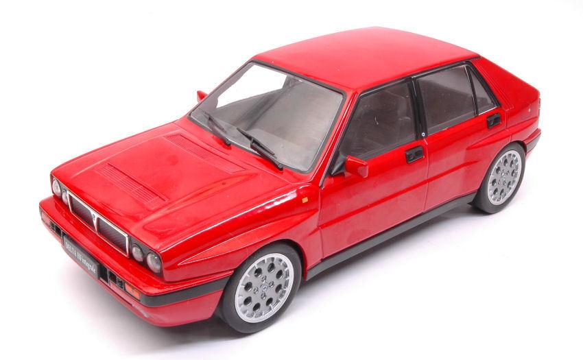 Lancia Delta Hf Integrale 16v 1989 rosso 1 18 modello modello modello TRIPLE 9 9f7732