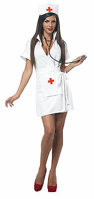 Adult Sexy Nurse Costume Halloween
