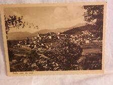 Vecchia cartolina foto di Polla vista da nord Brunner & C Como paesaggio paese
