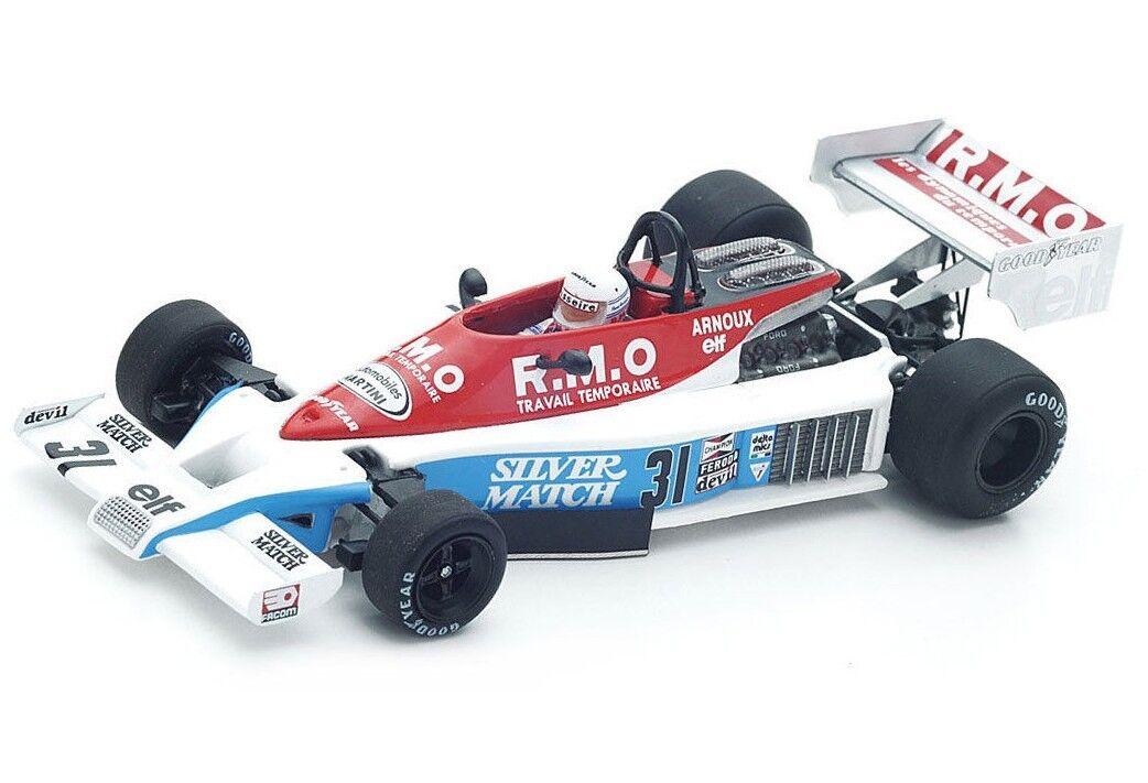 Martini  mk23 n.31 Dutch GP 1978 René Arnoux s4839 Spark 1 43 nouveau in a Box  font des activités d'escompte