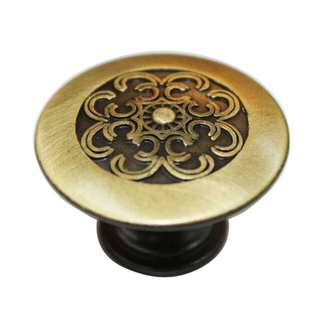 25 pcs Vintage Bronze 38 mm Knobs Kitchen Cabinet Furniture Drawer Pulls JCE858