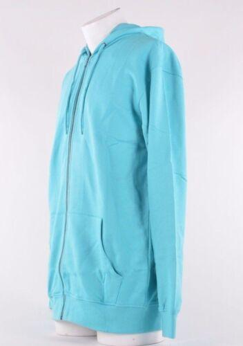 2013 NWT MENS AIRBLASTER AIRPILL FULL ZIP UP HOODIE $70 turquoise hoodie