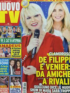 Nuovo Tv 2019 50.Maria De Filippi & Mara Venier,Alessio Boni,Michelle  Hunziker | eBay