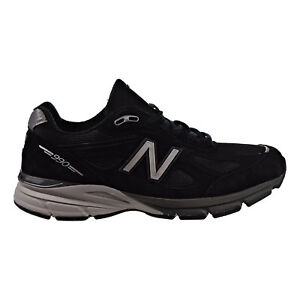 huge selection of 2c9ee 975bd Details about New Balance 990v4 Men's Running Stability Shoes Black/Silver  Made in USA M990bk4