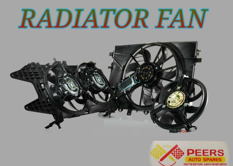 RADIATOR FAN  FOR MOST VEHICLES