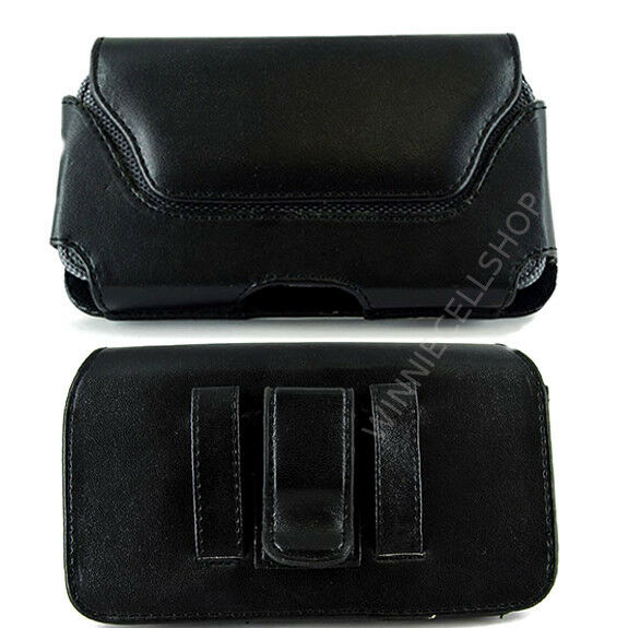 PU Leather Belt Clip Case Cover for Cell Phones COMPATIBLE W/ Otterbox Symmetry