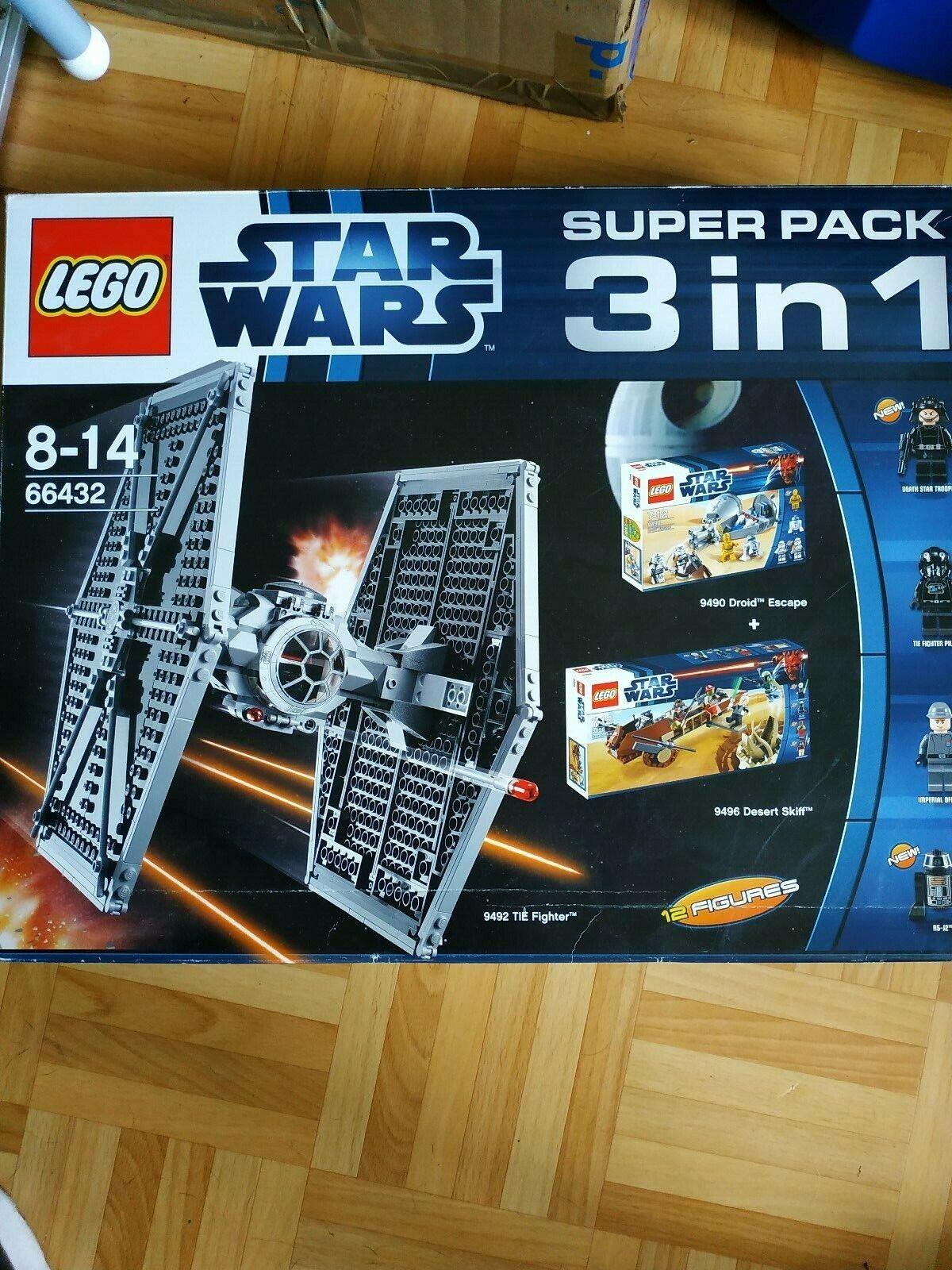 Lego Star Wars 3 in 1 Set 66432  ( 9492  9496  9490 )