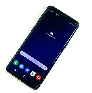 Samsung-Galaxy-S9-SM-G960-64-Go-Noir-Debloque-Smashed-Screen-Works-880