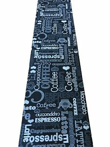 Tappeto-cucina-grigio-nero-cappuccino-caffe-antiscivolo-lavatrice-stuoia-cafe