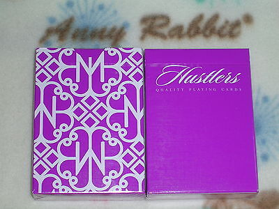 New Hustlers Purple Deck Playing Cards Daniel Madison LIMITED Ellusionist T11