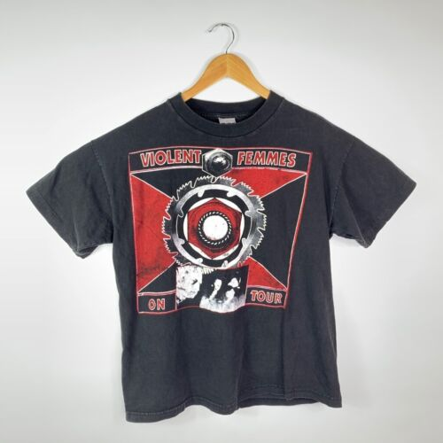 Violent Femmes on Tour Mens Murina T-Shirt Black 1