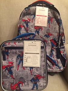 Nwt Pottery Barn Kids Rolling Backpack Amp Classic Lunchbox