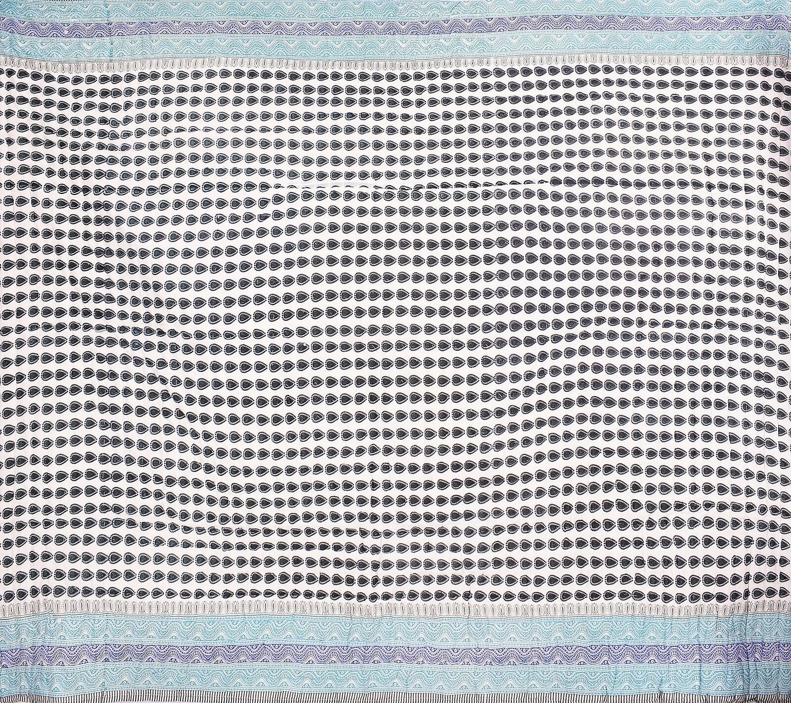 Indian Quilt Quilt Quilt Cotton Queen Größe Rajai Quilted Floral Blanket Bohemian Comforter 41a280