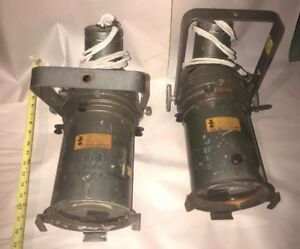 Details About 2 Vintage Century Lighting Inc New York Theater Stage Lamp Spot Light Steampu