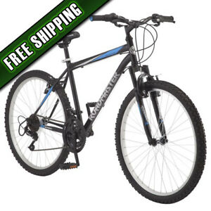 "Black//Blue Roadmaster Granite Peak Men/'s Mountain Bike 26/"" wheels"