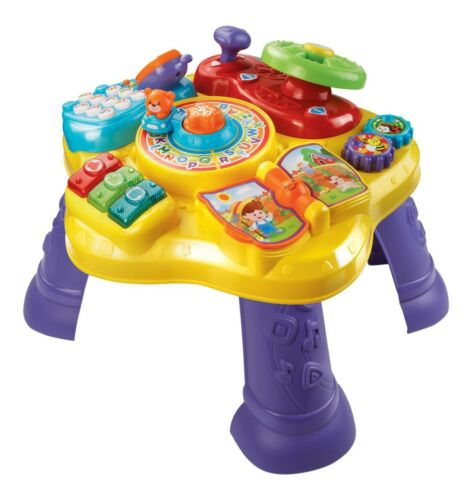 Frustration Free Packaging Vtech Magic Star Learning Table Original