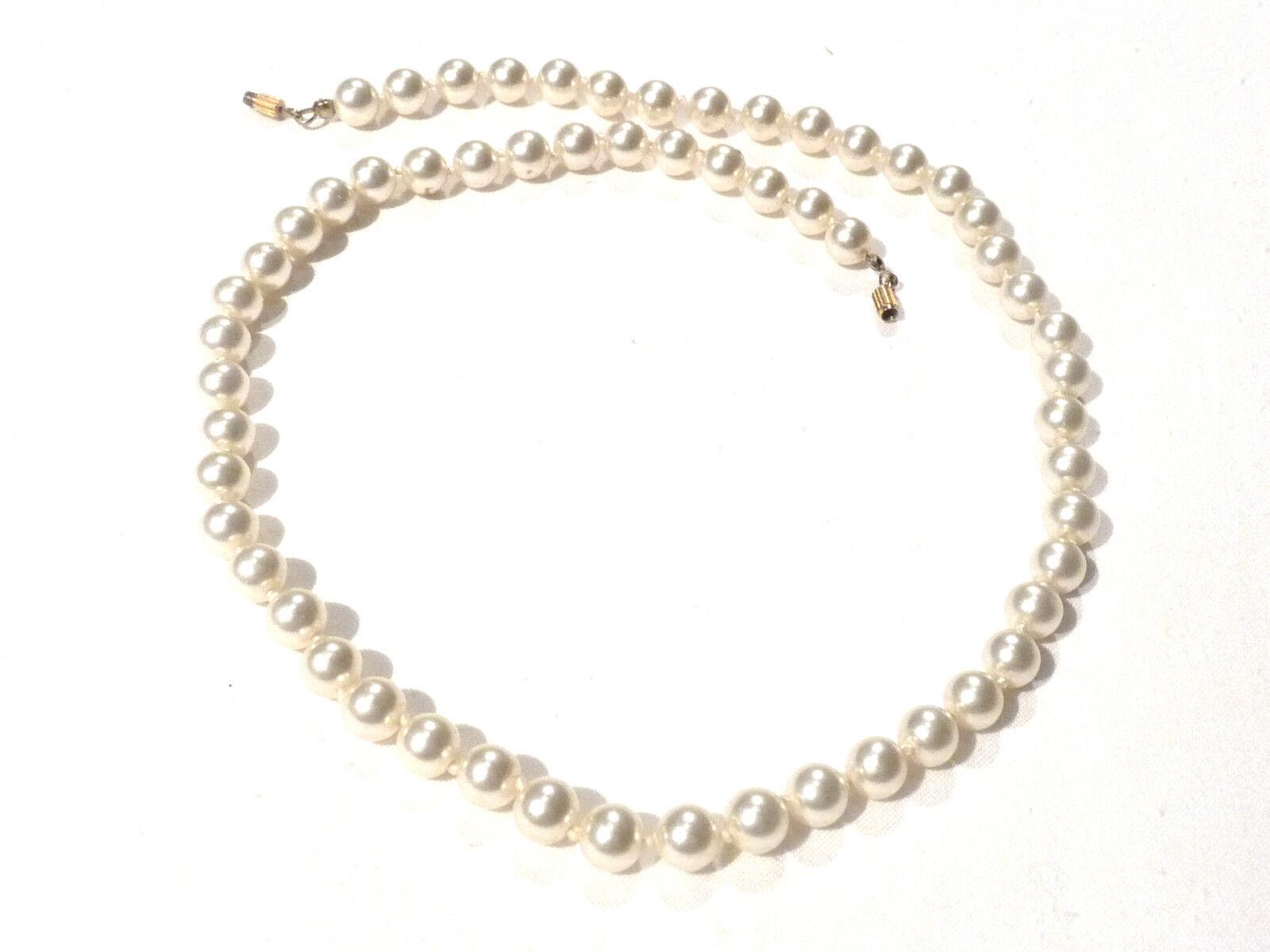Bijou collier perles choker choker choker fermoir  qui se visse necklace 67a047