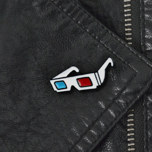 3D SUNGLASSES BADGE COLLAR LAPEL BROOCH PIN CLOTHES BAG FASHION DECOR FADDISH