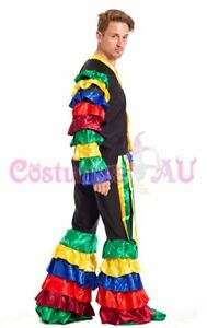 9d1e44cc286a Mens Latin Rumba Costume Salsa Mardi Gras Mexican Spanish Flamenco Dancing  Adult