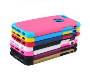 Anti-Choc-Silicone-TPU-Dur-Rigide-Housse-Coque-Etui-Case-iPhone-Samsung-Luxe