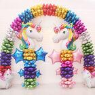 Supershape Rainbow Unicorn Head Foil Balloon Childrens Birthday Party Decoration