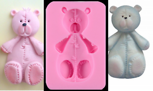 Bear-Teddy-Baby-Candle-Silicone-Mould-Chocolate-Vintage-Lace-Cake-Silicon-Mold