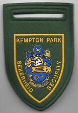 Süd-Afrika SAP KEMPTON PARK Sekerheid Security  Police Patch  Polizei Abzeichen