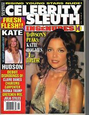 KATIE HOLMES Celebrity Sleuth 2001 Vol 14 No 8 KATE HUDSON IVANKA TRUMP