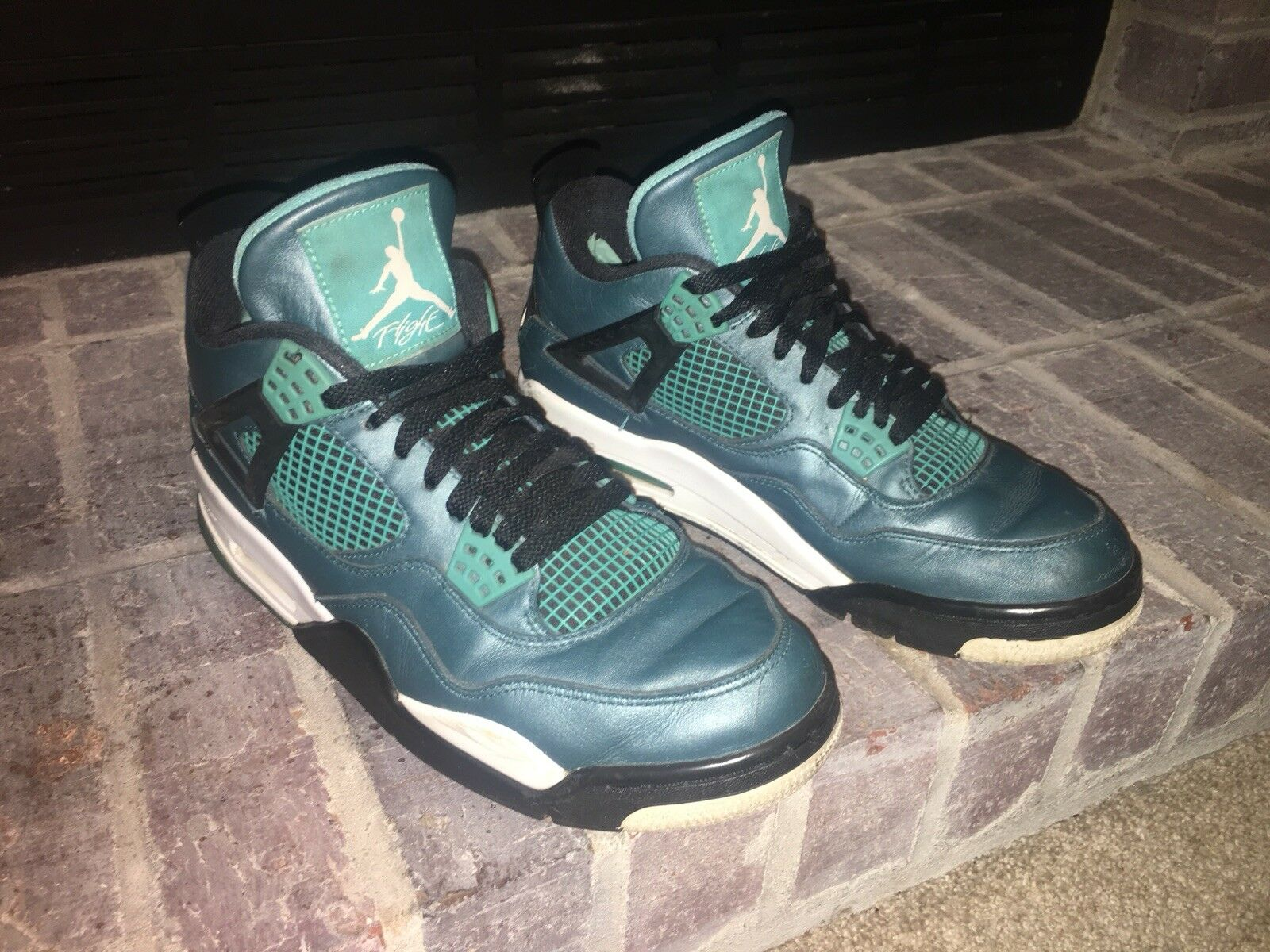 Nike Air Jordan 4 Retro Teal size 9.5 The most popular shoes for men and women