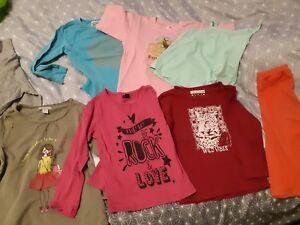 Lot-Vetement-Fille-pull-t-shirt-star-reine-des-neige-rose-4ans-short