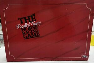 The-Really-Nasty-Horse-Racing-Board-Game-Rare-Vintage-1989-Edition-100-Complete