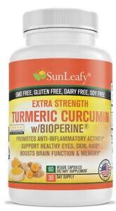 2000-Turmeric-Extra-Strength-95-Bioperine-Curcumin-Extract-Antioxidant-USA