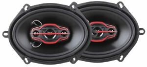 Dual Electronics DLS574 4-Way 6 x 8 inch Car Speakers w/ 160 Watt Power 9B-E0003
