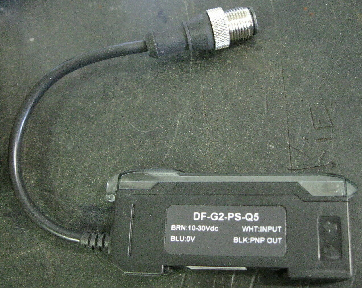 Banner DF-G3-PS-Q5 Long Range Fiber Optic Amplifier PNP M12 87579