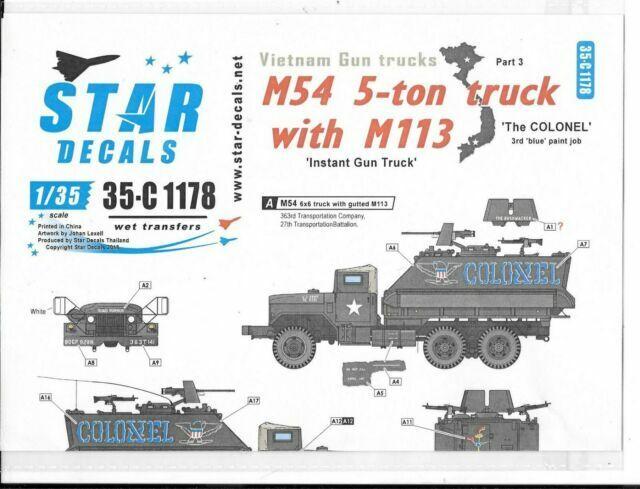 VTG 70 Vietnam war Decals 1//35 USMC ERDL FFSMC Productions US Camo