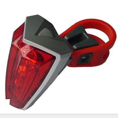 New 5 LED Ultra-bright Cycling Mountain Bike Rear Tail Lamp Bicycle Safety Light