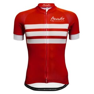 Arrivee Performance Men's Red National Manches Courtes Jersey. diverses tailles. BNWT. 							 							</span>