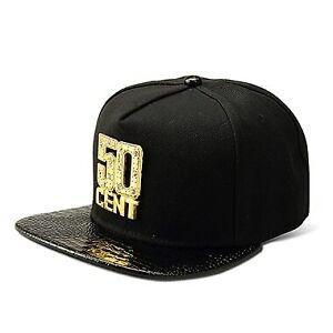 0f2afebc Details about Men & Women Accessories High Quality Hat's Snapback Cap 50  CENT Rap Baseball