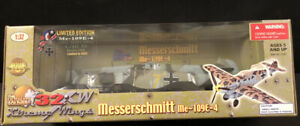 2004-Ultimate-Soldier-WWII-Messerschmitt-Me-109E-4-Limited-Edition-WASP-1-32-NIB