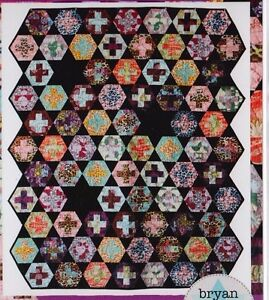 CLEARANCE-Hexy-Plus-fabulous-modern-pieced-quilt-PATTERN-Bryan-House