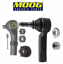 NEW VW Beetle Golf Jetta Set Of 2 Front Outer Steering Tie Rod Ends Pair Moog
