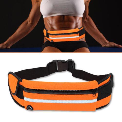 Unisex Waist Belt Bum Bag Jogging Running Travel Pouch Keys Sports Mobile Cash
