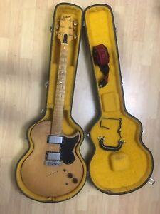 Vintage Années 1970 Rare! Gibson L6-s Midnight Special Naturel érable Avec étui Et Sangle-afficher Le Titre D'origine