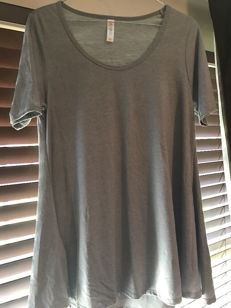 Lularoe Perfect T XS Solid Light grau - Goes With Everything  NEW